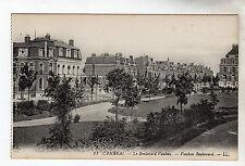 Vauban Boulevard - Cambrai Photo Postcard c1905 / LL