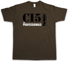 THE PROFESSIONALS T-SHIRT - Jackson CI5 Gordon UK Intelligence TV Series T-Shirt
