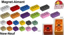 Lego - Brique aimant Brick magnet 2x2 / 2x4 choose color 30160 3003m NEUF NEW
