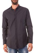 Camicia Daniele Alessandrini Shirt -50% Uomo Nero CDD007R11153505-1