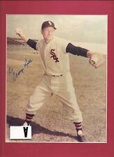 George Kell Auto/Signed 8x10 Photo Hof Tigers Sox