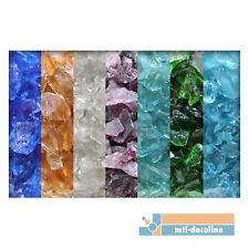 1 kg Glassplitt Glasbruch Glassteine Glas Splitt Deko verschiedene Farben