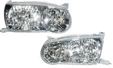 01 02 Corolla Left & Right Headlight Headlamp Lamp Light Pair L+R