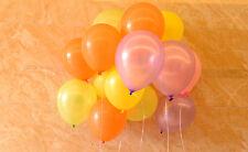 ballon à gonfler couleur uni latex fête mariage anniversaire décoration Baptême