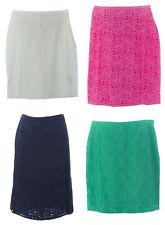 BODEN Women's Broderie Pencil Skirt WG401 $80 NWT