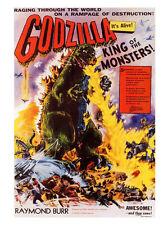 Godzilla Vintage Movie Poster Print New