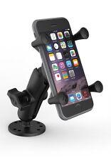 RAM Mount iPhone PLUS Flat Surface Drill Down Desk Dash Boat RAM-B-138-UN10U