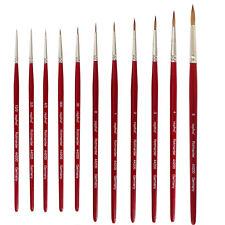 Rotmarder Pinsel Repino - Größen 10/0 bis 6 für Aquarellfarben
