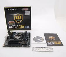 Gigabyte GA-H170M-D3H DDR3 USB 3.0 Intel H170 LGA 1151 Motherboard C