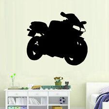 Sticker Décor Moto de course silhouette, 15x17 cm à 30x34 cm (MOTO004)