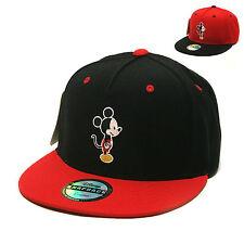 Unisex Mens Licensed Disney Mickey Mouse Profile Baseball Cap Snapback Hats