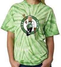 "Tie-Dye Paul Pierce Boston Celtics ""LOGO"" T-Shirt Shirt"