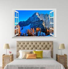 3D Berge Natur 87 Offen Windows WallPaper Wandbilder Mauer Druck Abziehbild Deco