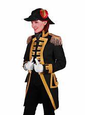 Gardeuniform für Damen schwarz