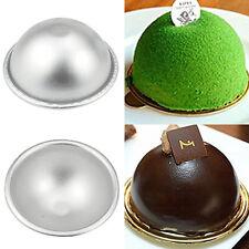 UK_ AC_ HEMISPHERE ALUMINUM BALL SPHERE CAKE PAN SUGARCRAFT BAKEWARE DECOR MOLD