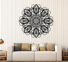 Large Vinyl Decal Wall Sticker pateraCircle ornament pattern beautiful (n633)