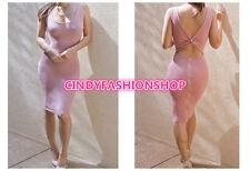New Women Sleeveless mmer Style Party Evening Elegant Sexy Club Bandage Dresses