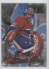 1997-98 Donruss Canadian Ice Les Gardiens #7 Jocelyn Thibault Montreal Canadiens