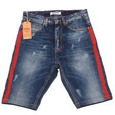 9612P bermuda uomo MNML COUTURE blu denim short men