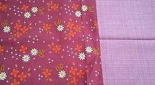 New-Camelot Fabrics 100% Cotton-Various Retro Designs-Burgundy and Pink Tones