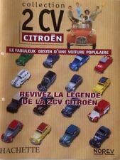 norev hachette fascicule collection Citroen 2CV  livré sans miniature au choix