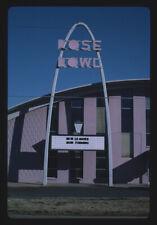 Unframed Photo  Rose Bowl sign, Tulsa, Oklahoma  1995 Margolies, John 12a