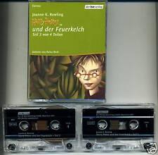 Harry Potter--und der Feuerkelch--MC-2 Stück-Hörbuch-3-