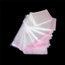 100Pcs/Bag OPP Clear Seal Self Adhesive Plastic Jewelry Home Packing Bags  RAC
