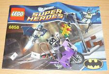Lego Super Heroes Bauplan für 6858, only instruction