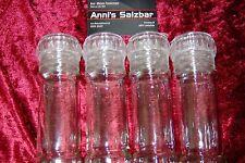 Gewürzmühle, Pfeffermühle, Salzmühle mit Keramik - Schraubmahlwerk 1 - 20 Stück