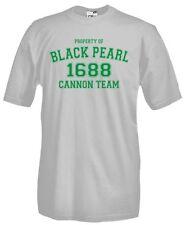T-Shirt girocollo manica corta Fun G13 Property of Black Pearl 1688 Cannon Team