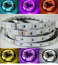4 in 1 LED Stripe 24V RGBW Kaltweiss 5050 60 LED 5 Mtr Streifen