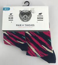 Women's Pair Of Thieves Socks Mom Kid Sock Set Kid's 18mo-3 yr, 4-8 Women 6-10