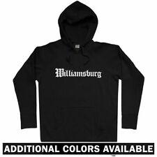 Williamsburg Gothic Brooklyn Hoodie - NYC New York Nets Virginia VA - Men S-3XL