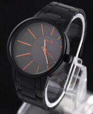 Unique Fashion Men's Sport Casual Watch Stainless Steel Quartz Analog Wristwatch