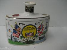 Alabama Bicentennial 1776-1976 - Heritage China Genuine Porcelain Liquor Bottle