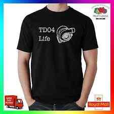 TD04 vita Turbo Divertente T-Shirt Shirt Tee Regalo JDM Swag sintonizzatore Boost trascinare