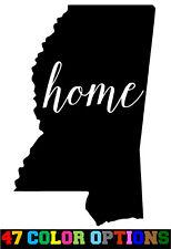 Vinyl Decal Truck Car Sticker Laptop - Home State Outline Love USA Mississippi