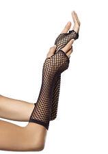 Leg Avenue 2024 Triangle Net Fingerless Gloves