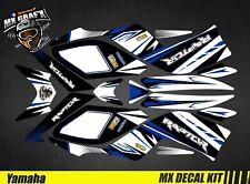 Kit Déco Quad pour / Atv Decal Kit for Yamaha Raptor - White