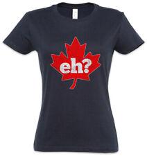Canada Eh? Women T-Shirt Frank Gallagher Shameless Fun Maple Leaf Flag Wildlife