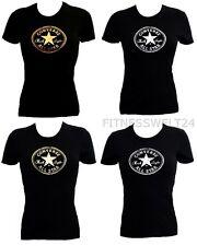 Nuevo Converse Camiseta All Star Mujer de tirante Camisa manga corta con logo