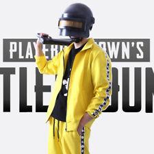 PUBG Playerunknown's Battlegrounds Cosplay Costume Sportswear Jacket Coat & Pant