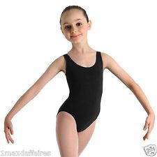 Justaucorps Bretelles BLOCH Noir Neuf CL5405 2 couleurs Danse BALLET Fille