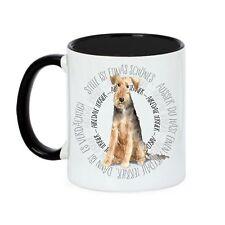 8000 Tasse AIREDALE TERRIER Circle Watercolour Dogs Kaffebecher Siviwonder
