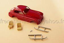 LN Voiture Ferrari 166 inter rouge resine miniature collector 1/43 Heco modeles