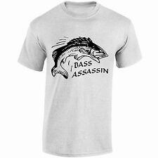 Bass Assassin Camiseta Carpa Pike Trucha Cebo Cumpleaños Regalo Navidad fathersday