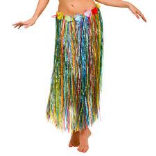 Hula Skirt 80cm Green Hawaiian Alloha Magnum Five'O Tropical Lua Fancy Dress