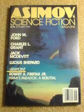 ASIMOV'S (SCI-FI) - FERMI'S PARADOX - Sep 1984