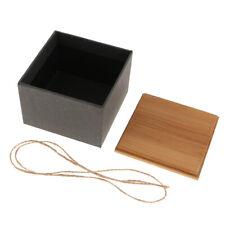 Handmade Tea Box Bamboo Lid Storage Box Tea Canister Kitchen Storage Jars